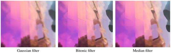 wxDicom Bitonic Filtering